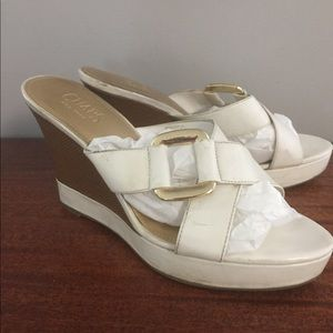Chaps Ralph Wedges Shoes Size 9